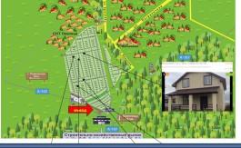 схема КП Кузнецовское Подворье, с домами