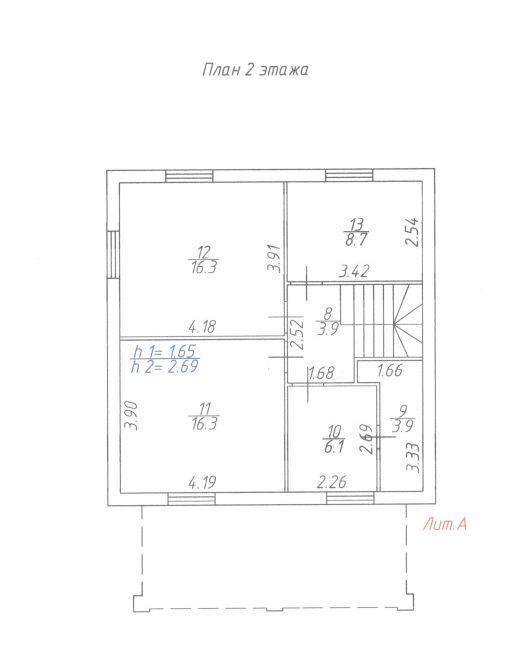 План 2 этаж