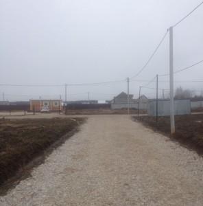 КП Южный Мыс (дороги внутри поселка)
